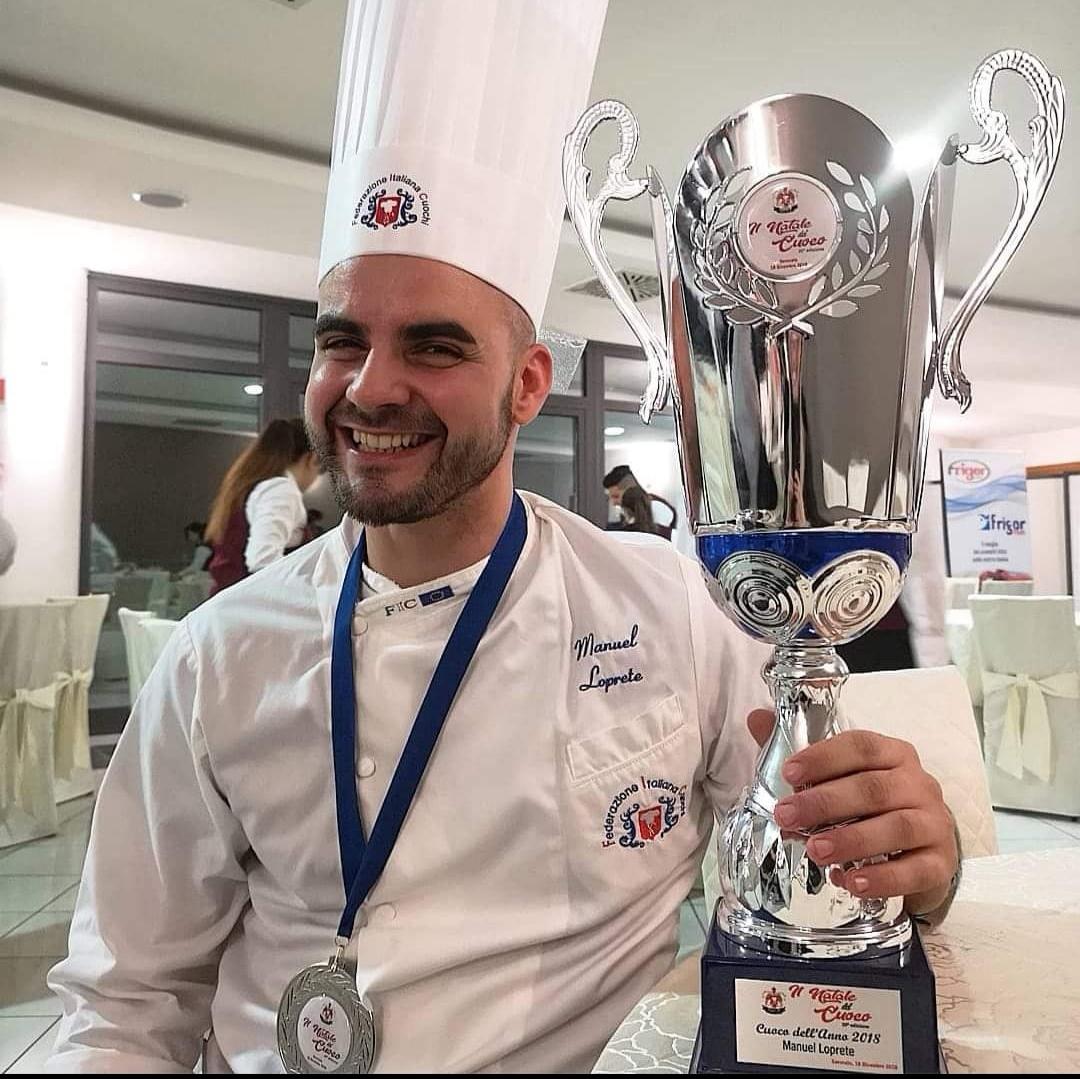 """""""Il Natale del cuoco"""", primo premio a giovane chef  Loprete si aggiudica il concorso di Catanzaro"""