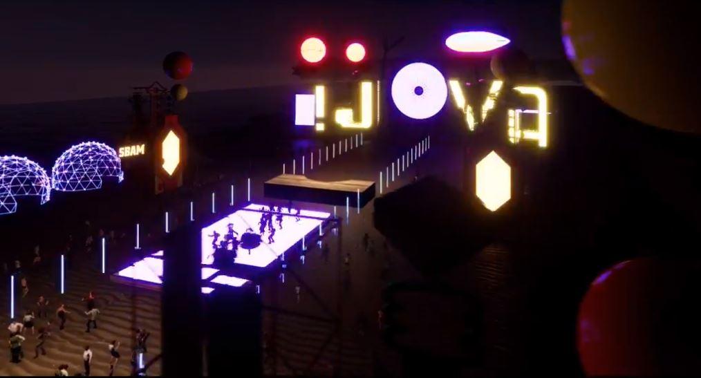 Alcuni momenti della presentazione del Jova Beach Party