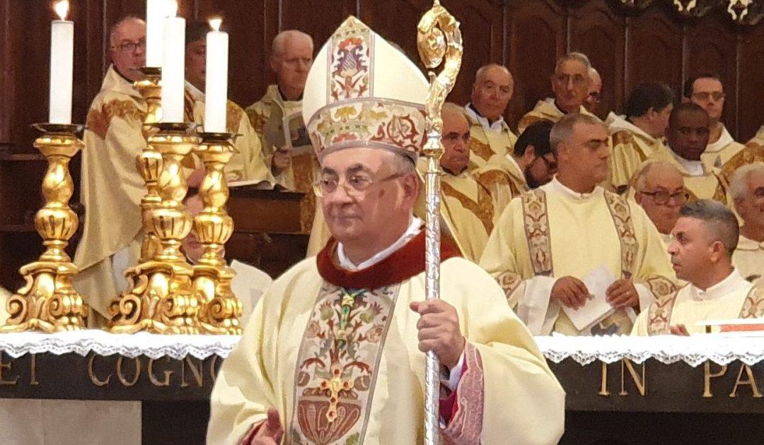 Il vescovo emerito di Mileto-Nicotera-Tropea, Luigi Renzo