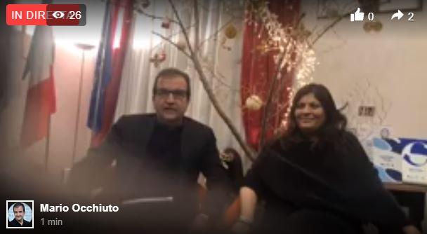 Il sindaco Occhiuto annuncia il Capodanno di CosenzaEcco la diretta della conferenza stampa di presentazione