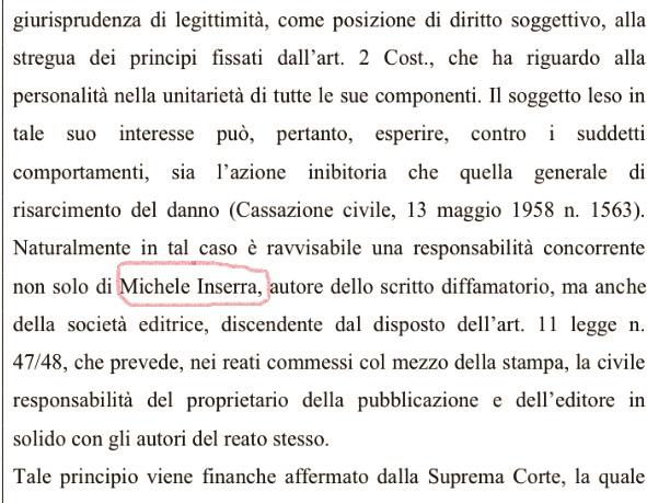 """Giudice di Palmi """"copia e incolla"""" una sentenza   Giornalista condannato ma il """"caso"""" è diverso"""