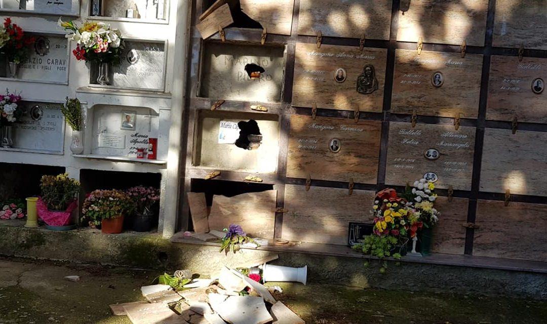 Zagarise, macabra intimidazione a consigliere comunale  Profanate le tombe dei genitori e appiccato rogo