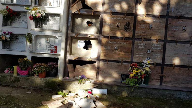 Zagarise, macabro avvertimento a consigliere comunaleProfanate le tombe dei genitori e appiccato rogo
