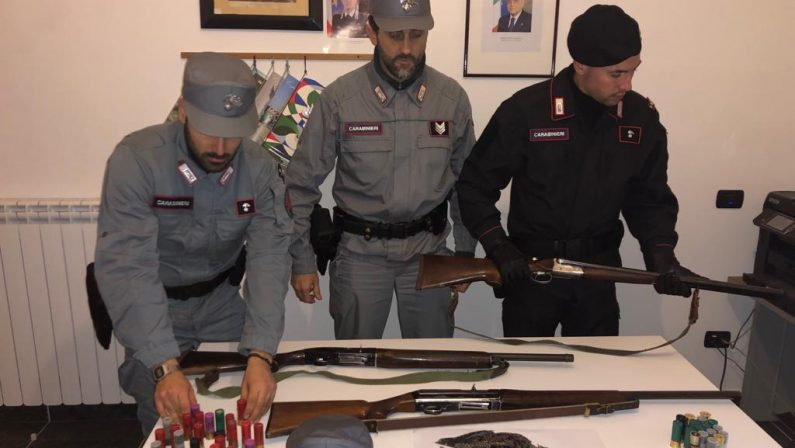 A caccia nel Parco nazionale della Sila, tre denunceSorpresi dai carabinieri forestali. Uccisa una beccaccia