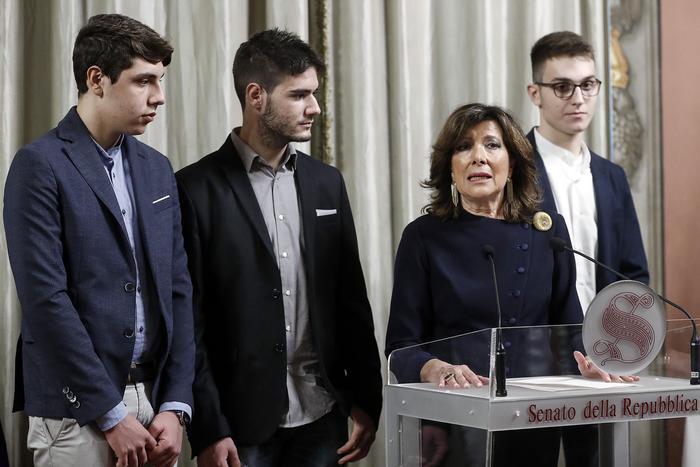 Dal Righi di Napoli a Boston con il Presidente del Senato Casellati