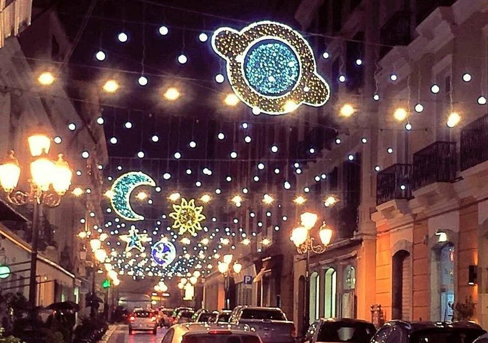 Le luminarie natalizie a Catanzaro