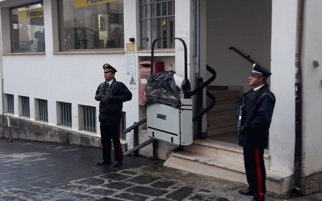 Sventata una rapina alle Poste nel Vibonese  Scortato il portavalori, indagini su tre sospetti