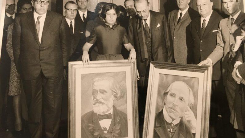 FOTO - Immagini d'epoca per il Rendano che fuAlcuni momenti della storia del Teatro di Cosenza