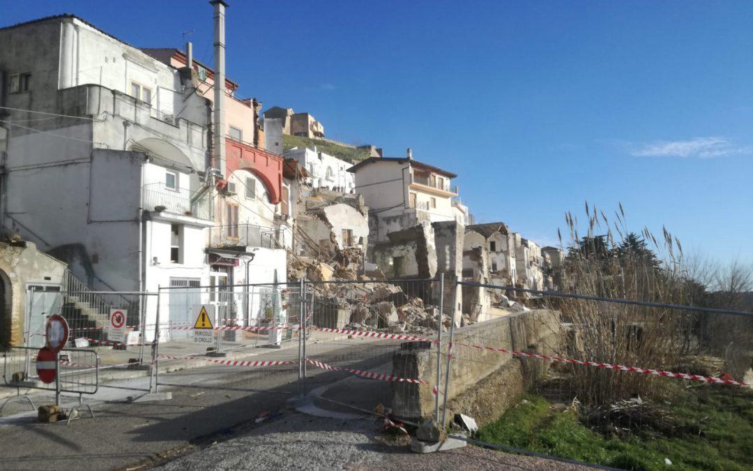 VIDEO – Le scioccanti immagini della frana di Pomarico in Basilicata