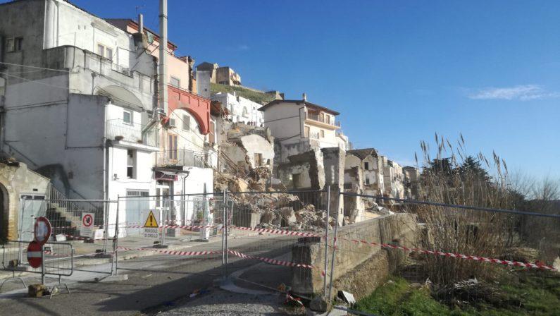 VIDEO - Le scioccanti immagini della frana di Pomarico in Basilicata