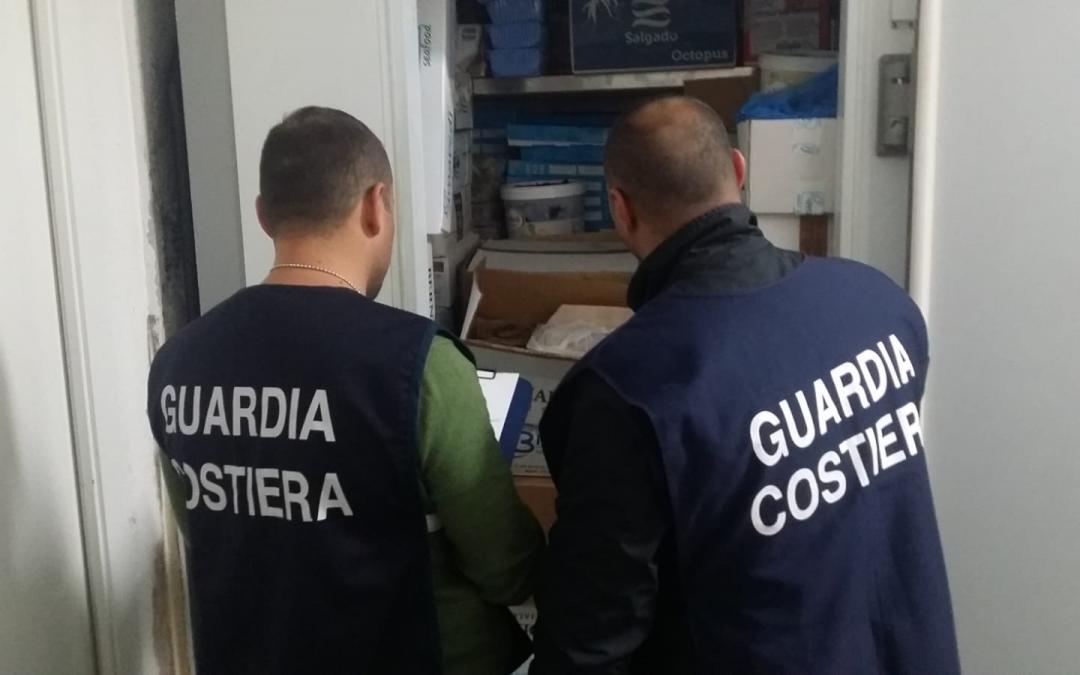 Operazione Confine Illegale della Guardia Costiera  Multe e sequestri di pesce su tutta la costa tirrenica
