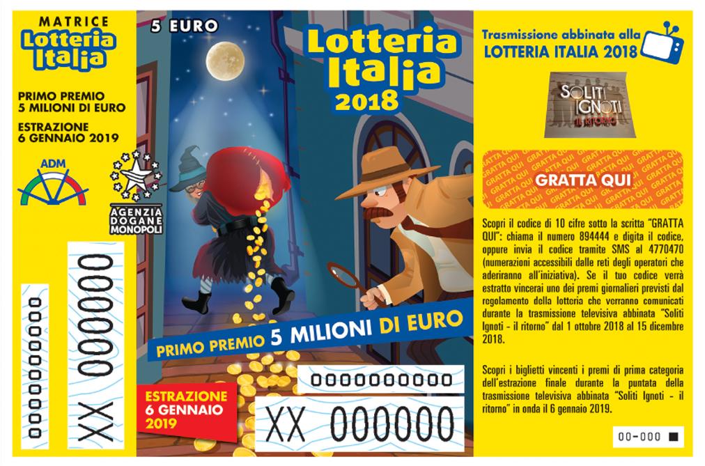 Lotteria Italia, crollo della vendita dei bigliettiIn Calabria venduti poco più di 116 mila biglietti