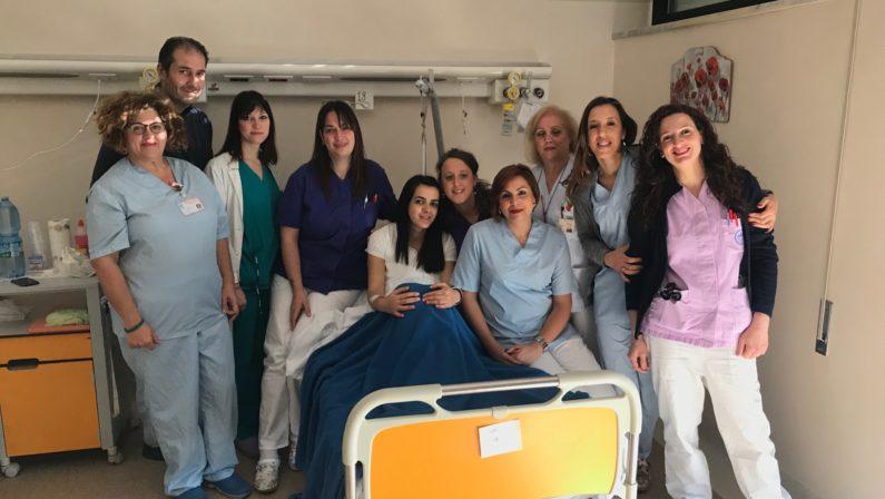 È Sebastian il primo nato a Catanzaro nel 2019Venuto alla luce pochi minuti dopo le sette