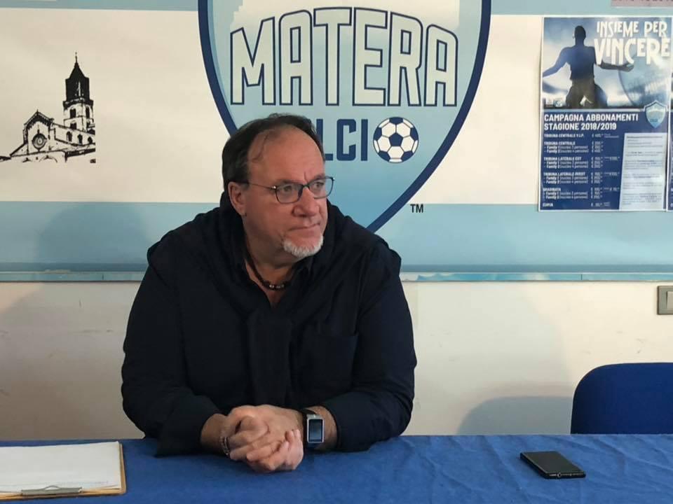 Nove istanze di fallimento per il Matera Calcio  Ma la società di Lamberti è pronta a difendersi