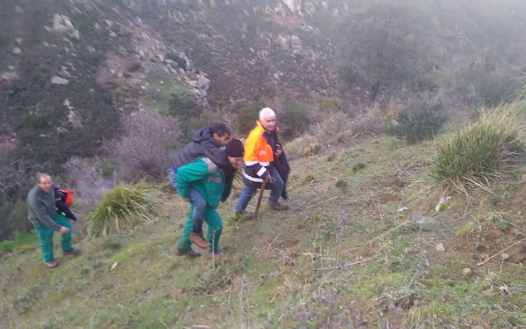 Ritrovato e salvato l'uomo scomparso nel Reggino Si trovava in una zona impervia dell'Aspromonte