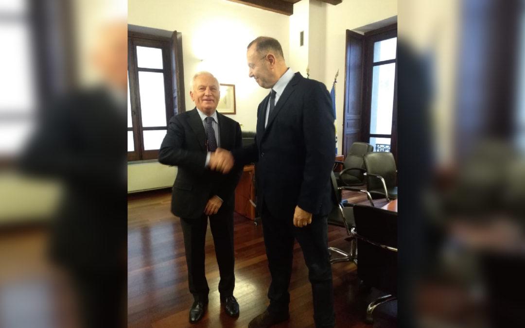 Commissariamento della Sanità Calabrese, Cotticelli in sede  Passaggio di consegne con il commissario uscente Scura