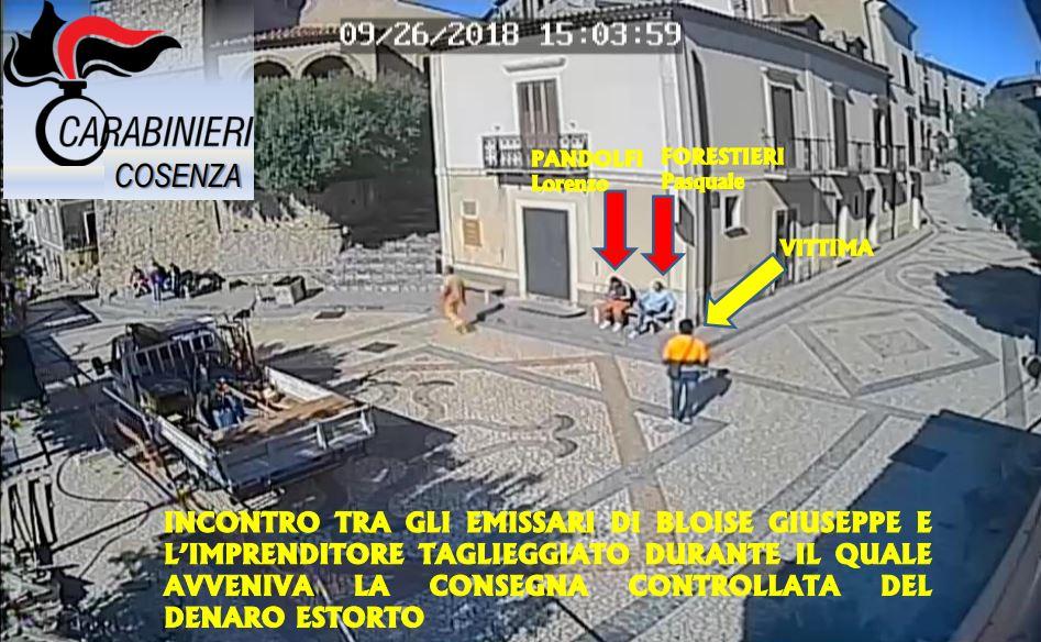 """'Ndrangheta, arrestato il """"boss della montagna"""" Estorsioni alle ditte impegnate in lavori nel Cosentino"""