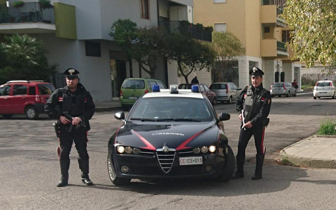 I carabinieri di Corigliano Calabro