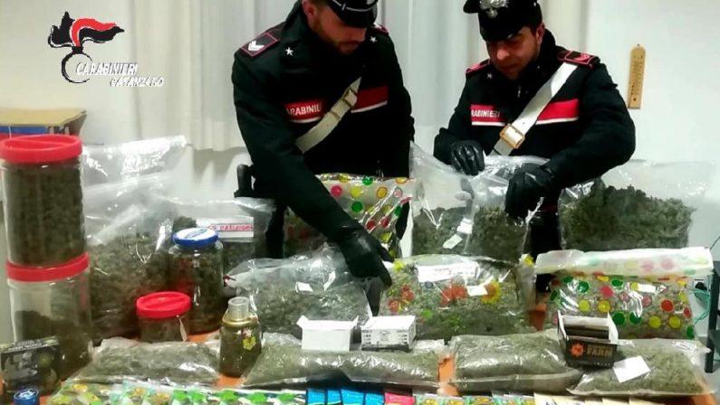 Marijuana venduta come cannabis light, sequestroArrestato lametino titolare di un negozio a Gioia Tauro
