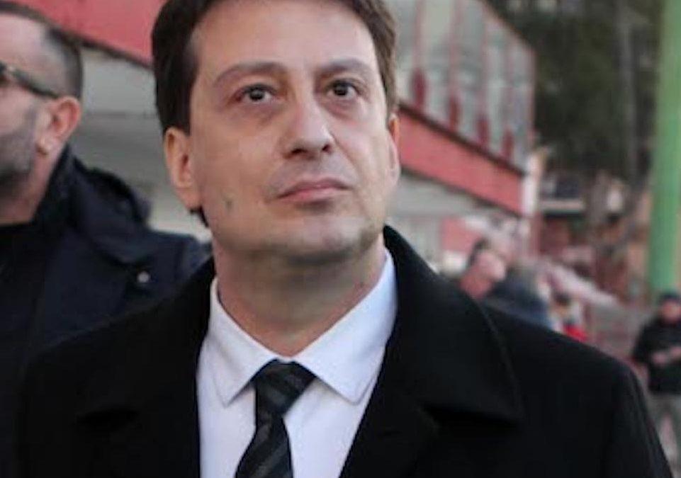 Luca Gallo, presidente della Reggina