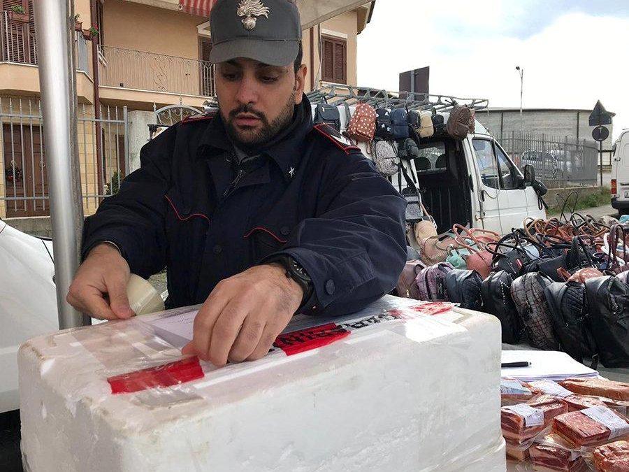 Controlli al mercato settimanale nel Cosentino  Sequestrato un quintale di prodotti alimentari