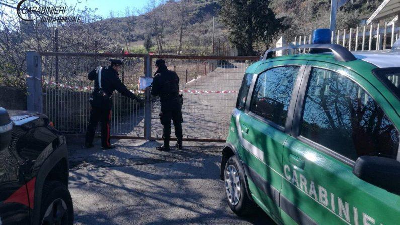 Sequestrato centro raccolta di rifiuti nel CosentinoViolate le normative su realizzazione e gestione