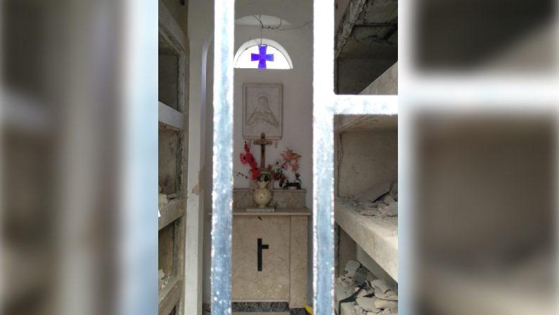 Sette bare rubate dal cimitero di Vibo ValentiaLa macabra scoperta in una cappella gentilizia
