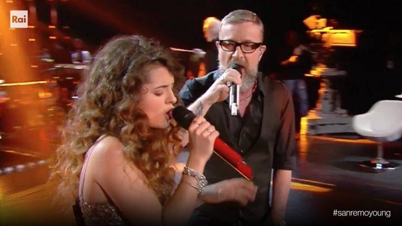 Sanremo Young, Giovanna Camastra vince la puntataVola nel televoto. Criticato l'abbinamento con Masini