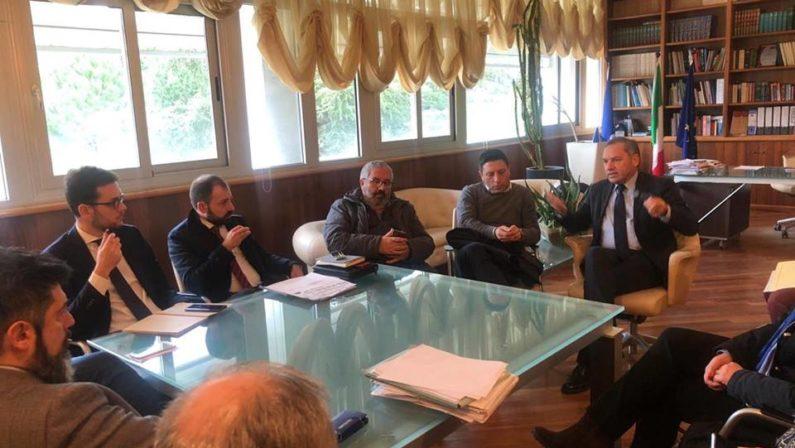 Percorsi alternativi e area camper sull'A2 del MediterraneoL'Anas garantisce l'appalto dei lavori entro l'anno