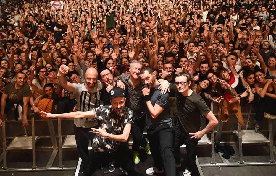 La band torinese dei Subsonica (foto da fb)
