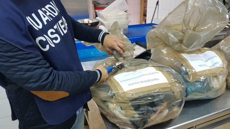 Operazione della Guardia costiera sulla costa tirrenicaMulte, denunce e centinaia di chili di pesce sequestrati