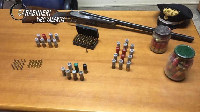 Operazione dei carabinieri nelle campagne vibonesiTrovate armi e munizioni anche in una edicola votiva