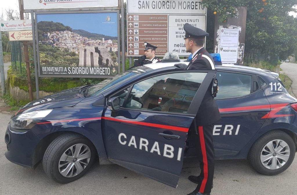 I carabinieri di San Giorgio Morgeto