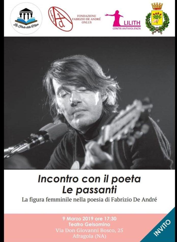 """""""Le passanti"""", ad Afragola il ricordo di Fabrizio De André"""
