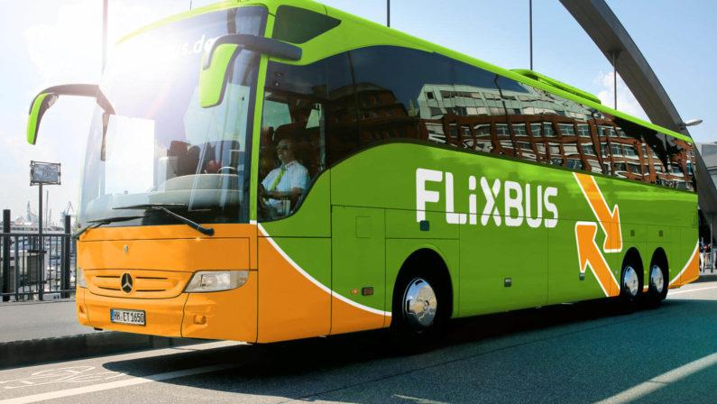 FlixBus, rafforzato corridoiotra la Calabria e la SiciliaSono diventate 50 le città collegate dalla società