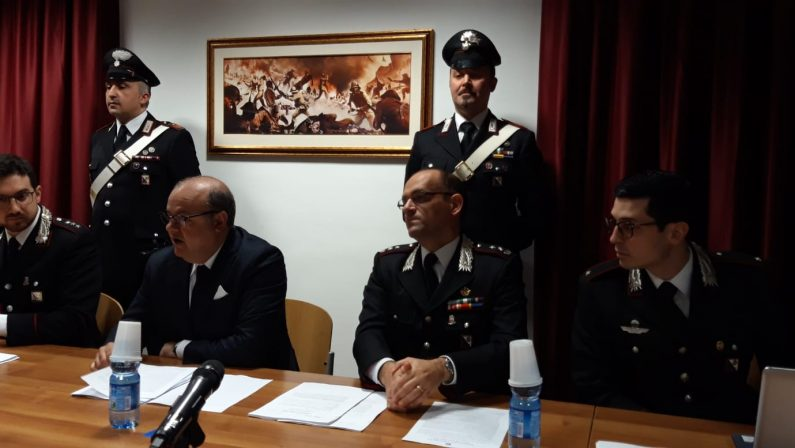 Rapine in uffici postali e negozi del Lametino, 7 arresti  Sgominate due bande composte da italiani e rumeni
