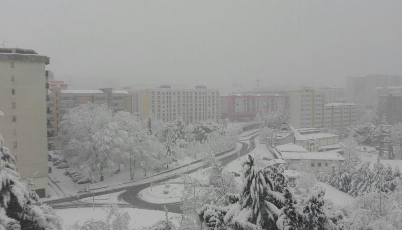 La nevicata del marzo 2018 a Potenza