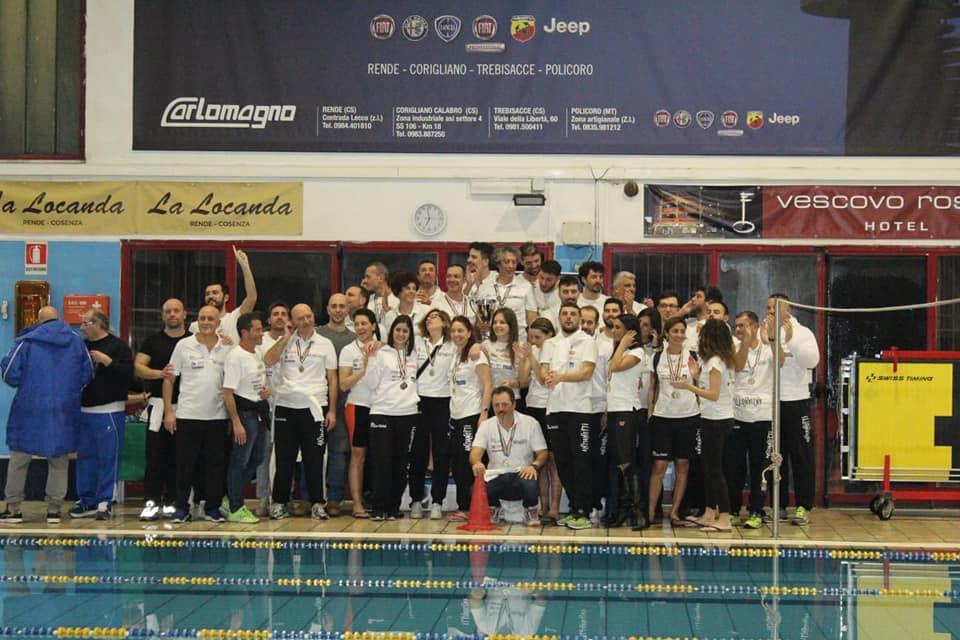 Nuoto, in Calabria trionfano ancora gli Anzianotti  Si aggiudicano il titolo di campioni regionali 2019