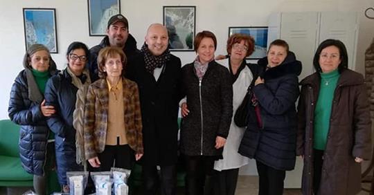 Una raccolta fondi per il reparto di OncologiaIniziativa tenuta a Tropea da alcuni imprenditori