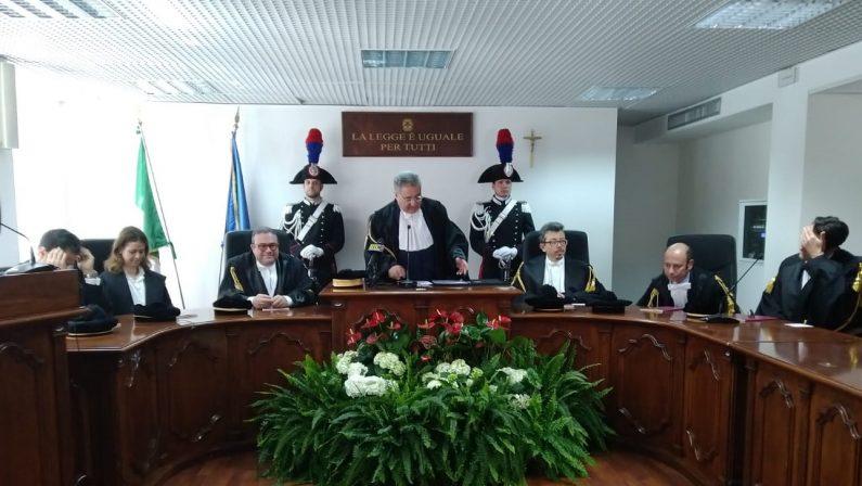 Aperto l'anno giudiziario del Tar CalabriaRidotto l'arretrato ma resta la carenza di organico