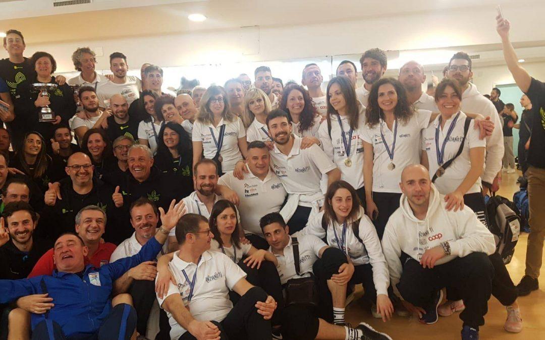 """Nuoto, gli """"Anzianotti"""" conquistano la Campania  Primi al Trofeo Master Balnaea di Battipaglia"""