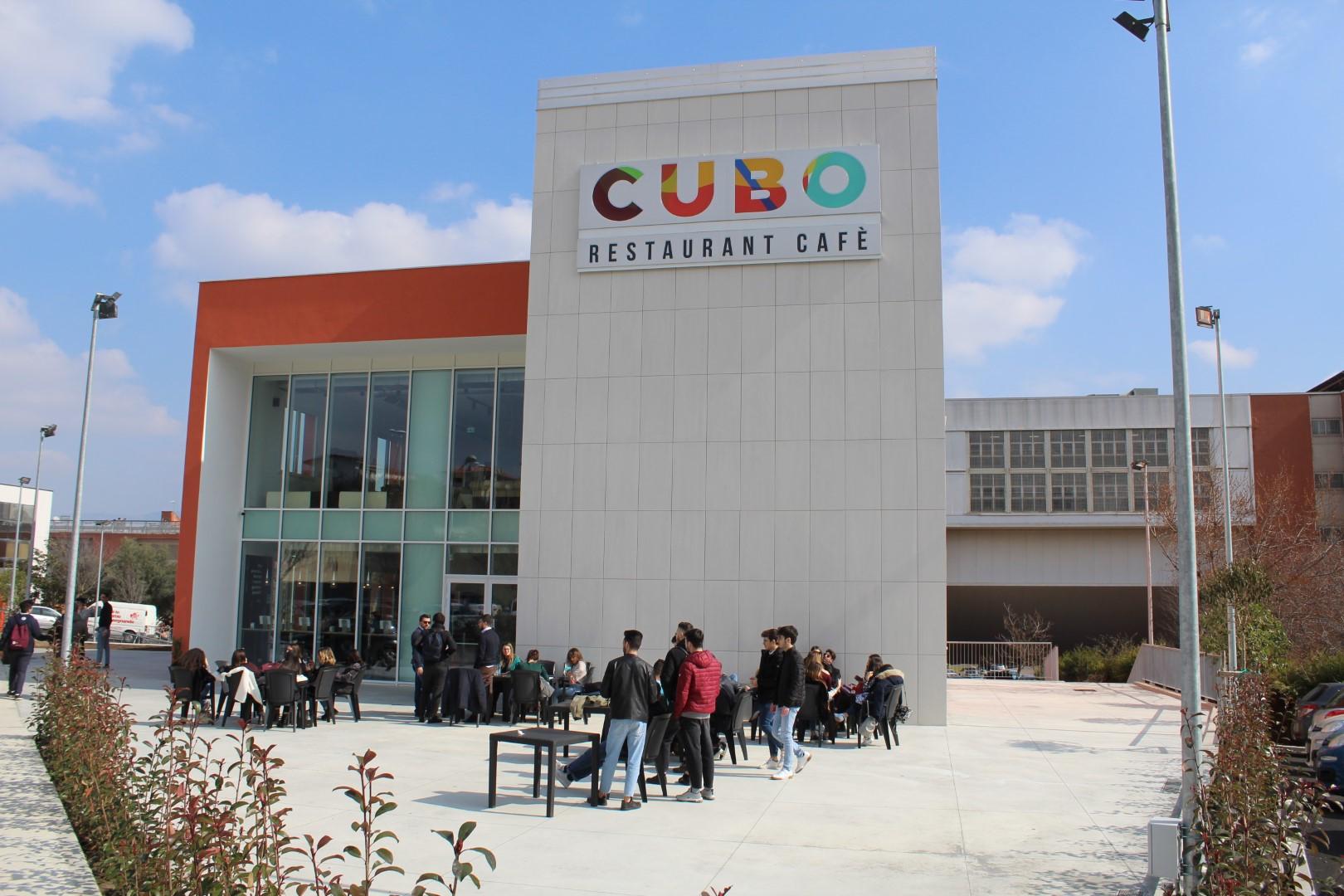 Rende, un nuovo Cubo pronto all'Unical  Il 25 marzo l'inaugurazione del Restaurant Café