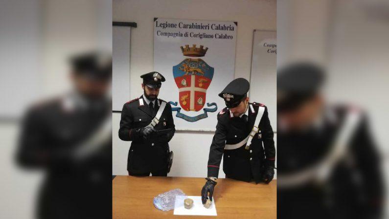 Corigliano Rossano, viaggiava con a bordo cocainaArrestato e trasferito in carcere un uomo di 35 anni