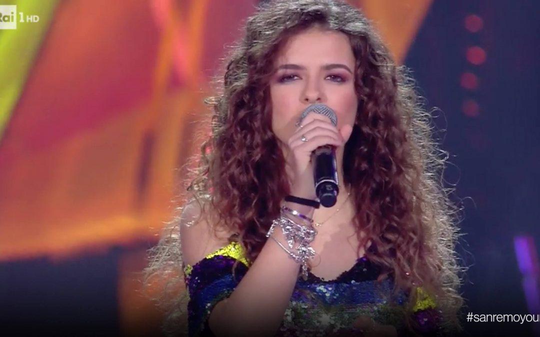 Giovanna Camastra nell'esibizione in semifinale