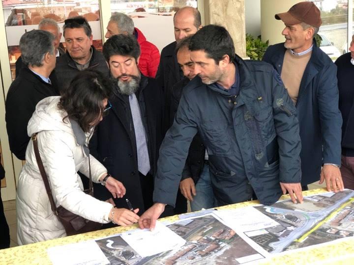 Anas, iniziati i lavori per l'attesa rotatoria di GiovinoPiù sicurezza sulla strada statale 106 a Catanzaro