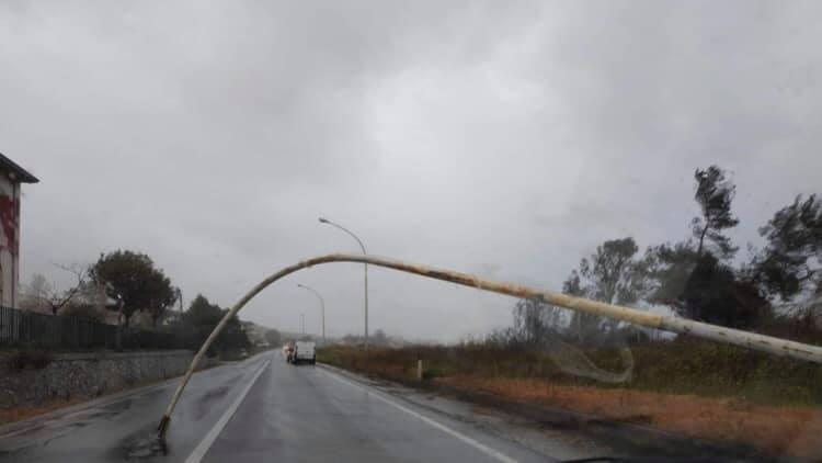 Maltempo, neve e venti molto forti: disagi in CalabriaDanni nel Cosentino, quattro Tir ribaltati in autostrada
