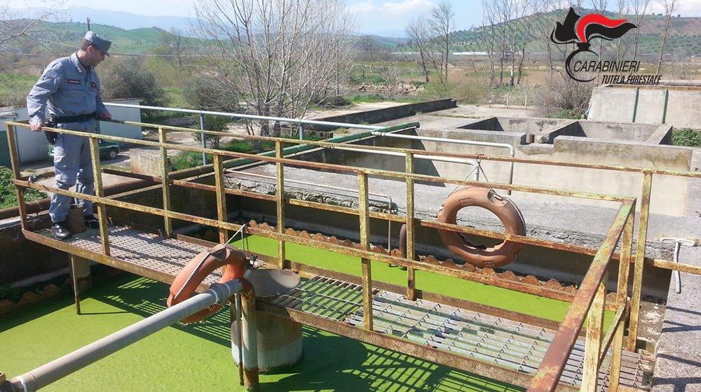 I liquami venivano scaricati nel fiume CratiSequestrati due depuratori nel Cosentino