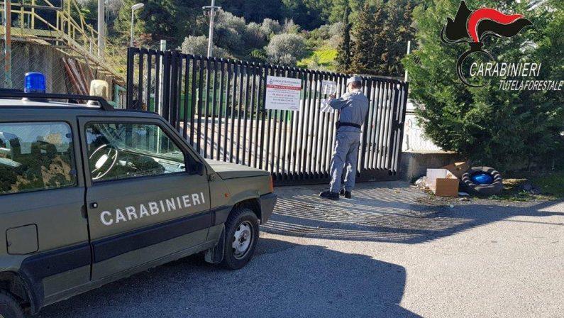 Ambiente, centri di raccolta dei rifiuti non a normaSequestrate due strutture in comuni del Cosentino