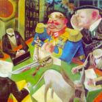 """Il consiglio di amministrazione"""", tela di George Grosz.jpg"""