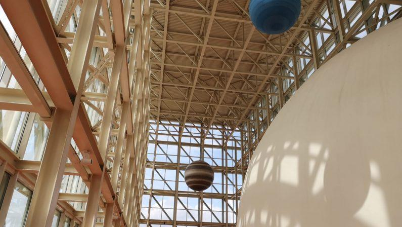 FOTO - Apre a Cosenza il planetarium Giovan Battista Amico